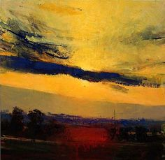bofransson:  Andrew Gifford - Fontaine Evening XIII - love the bold brush strokes!