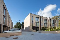 MLA have delivered this residential development of 3 apartment blocks and 24 townhouses on the site of an old BT … Residential Architecture, Modern Architecture, Facade Design, House Design, Urban Apartment, Master Plan, Work Inspiration, Design Projects, Townhouse