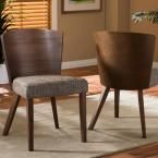 Sparrow Brown Wood Dining Chair (Set of 2)