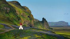 Vik, Iceland...wonderful.