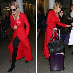 0588164827 Rita Ora was spotted traveling in style in all accessories