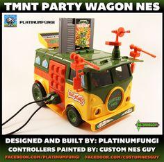 TMNT/NES Party Wagon [Pics]