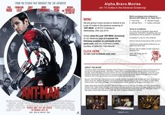 We are giving 5 lucky winners a chance to win a pair of invites to the advance screening of 'ANT-MAN' at NOVO Cinemas on Wednesday, 29th July 2015. Simply share the post 'ANT-MAN | Screening' on our facebook page and answer the following question in comments of the same post, and you could win 2 invites, courtesy of Italia Film International.