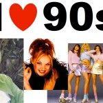 Gli anni '90 – Moda e acconciature