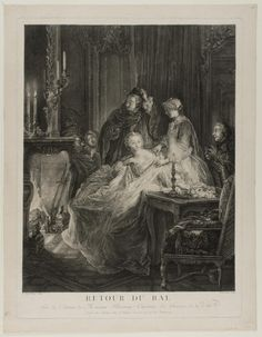 Philadelphia Museum of Art, 1985-52-463. After the Ball, 1758