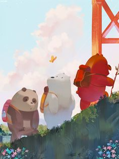 We Bare Bears Wallpaper 94 Images in We Bare Bears Christmas Wallpaper - All Cartoon Wallpapers Bear Wallpaper, Kawaii Wallpaper, Disney Wallpaper, Mobile Wallpaper, Wallpaper Wallpapers, Ice Bear We Bare Bears, We Bear, We Bare Bears Human, Cute Cartoon Wallpapers