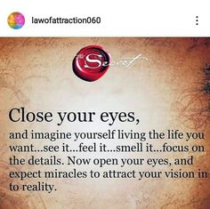 Secret Law Of Attraction, Law Of Attraction Quotes, Morning Affirmations, Positive Affirmations, Positive Thoughts, Positive Quotes, Meaningful Quotes, Inspirational Quotes, Spiritual Prayers