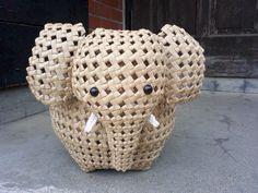 Karen Smith, All Craft, Merino Wool Blanket, Macrame, Recycling, Weaving, Arts And Crafts, Jewelry, Macrame Owl