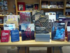There are lots of great art books in the Museum Shop.