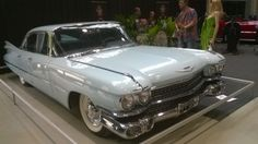 Cadillac Sedan deVille 1959 at the Classic Motor Show in Lahti, Finland 2014