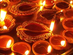 A lovely picture of the Diwali celebration~ My Mom loved this special time in India and she loved lighting candles and putting up Christmas lights when we were growing up. Diwali is about celebrating the fight of good over evil, being with family, lots of food and light. I will be lighting a special candle in honor of my Mom's memory this year. I hope that I too can pass on special Indian celebrations to my children one day.
