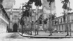 Santo Domingo Church, west side, and Santo Tomas Plaza Intramuros, Time Of Our Lives, Historical Pictures, Historical Fiction, American War, Manila, Filipino, Old Photos, Philippines