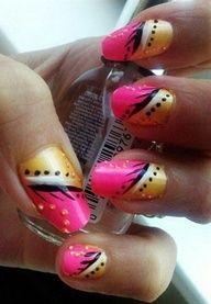 Abstract nail design. by liinii1 - Nail Art Gallery nailartgallery.na... by Nails Magazine www.nailsmag.com #nailart