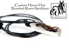 Custom Horse Hair Jewelry -Necklace on Etsy, $25.00