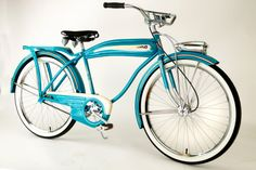 1950's turquoise by-cycle found one of these and my dad restored it for me. Loved it
