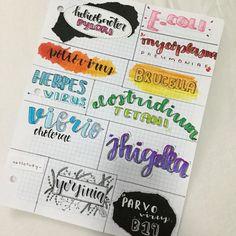 Bullet Journal School, Journal Fonts, Bullet Journal Notes, Bullet Journal Ideas Pages, Pretty Notes, Good Notes, Lettering Tutorial, Lettering Design, Cute Calligraphy