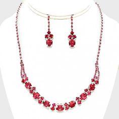 6c72b4470eff5 Parure Bijoux Mariage, Bijoux Cristal, Cristaux, Collier, Perle, Collier  Perle