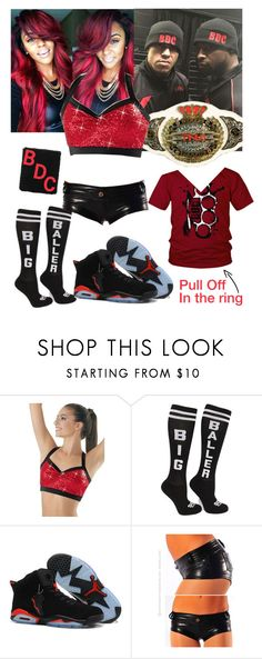 """""""TNA Impact Wrestling - Match with Kenny King and Low Ki at ringside"""" by swaggwweforever ❤ liked on Polyvore featuring TNA, tna, impactwrestlig, lowki, beatdownclan and kennyking"""