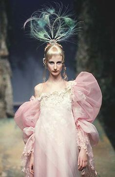 Christian Lacroix, Fashion, Catwalk, Designer, Garment, Runway, Esther de Jonc, 1998 january