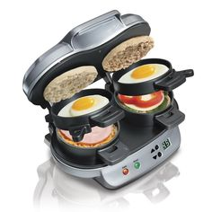 Dual Breakfast Sandwich Maker: You Have No Excuse Not To Eat Breakfast