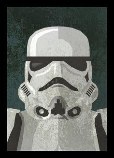 storm trooper wall art