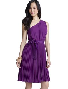 Possible bridesmaids dress color? it's a bright plum and perfect for spring.