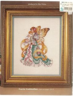Faeries 6 Magical Designs Fairy Counted Cross Stitch Chart 3633 Barbara Baatz for sale online Cross Patterns, Counted Cross Stitch Patterns, Cross Stitch Embroidery, Embroidery Patterns, Cross Stitch Fairy, Cross Stitch Angels, Fairy Pictures, Forest Fairy, Fairy Godmother