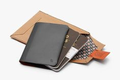 Field Notes Notebook Cover Mini - Charcoal - Bellroy