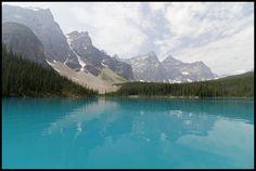Lake Moraine Alberta Canada. [OC] [5136 x 3449] #reddit