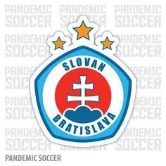 Slovan Bratislava FC Slovakia Soccer Football Car Bumper Sticker Decal x Soccer Skills, Soccer Tips, Chino Hills Basketball, Bratislava Slovakia, Football Team Logos, Car Bumper Stickers, Uefa Champions League, Best Player, Sports Logo