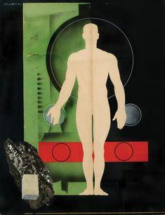 Victor VASARELY - Drawing-Watercolor - Reclama (Advertisement work) 1935