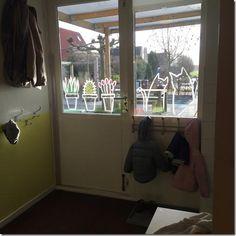 Plants & cats #windowdrawing by Marianne. #raamtekening