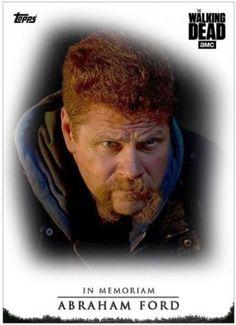 Topps-The-Walking-Dead-Saison 7-In-Memoriam-Abraham-Ford