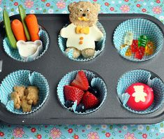 Muffin Tin Monday for Kids. What a cute idea, can't wait to do this for my LO!