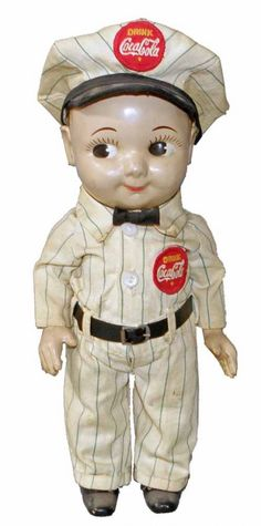 Coca Cola - Vintage BUDDY LEE Coca Cola Doll