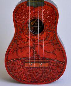 Red dress ukulele magic 5 eco