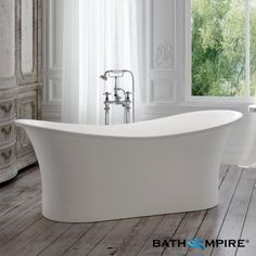 1815x800mm Traditional Roll Top Bath - BathEmpire