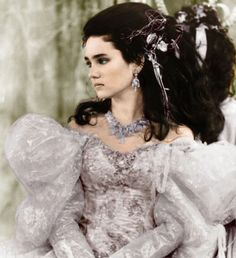 I really like this picture of Sarah's fashion from the ballroom scene in Labyrinth. Very 80s but this veiw makes it look chic!