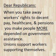 Union member!