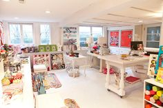 Shelley Kennedy (studio) of drooz studio was featured in the May/Jun/Jul issue of Where Women Create Sewing Room Organization, Craft Room Storage, Craft Rooms, Sewing Spaces, Sewing Rooms, Space Crafts, Home Crafts, Home Office, Quilting Room