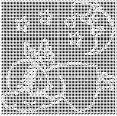 f Filet Crochet, Crochet Chart, Thread Crochet, Crochet Baby, Graph Design, Holiday Crochet, Crochet Blocks, Unique Crochet, Afghan Crochet Patterns