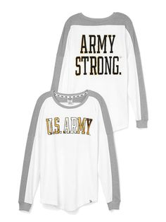 Army Varsity Crew - PINK - Victoria's Secret from Victoria's Secret. Shop more products from Victoria's Secret on Wanelo.