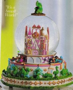 It's a Small World Disney Snowglobe