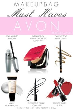 We have tons of deals going on right now, which is perfect if your makeup bag needs a little updating or a boost of great products.  ejustus.avonrepresentative.com  .  .  .  #avon #avonrep #tulsa #brokenarrow #oklahoma #makeup #mascara #beauty #beautyproducts #eyebrows #foundation #lipstick #matte #mattelips #affordable #eyeliner #liquidliner #wings #cateye #classicbeauty