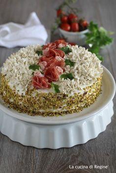 Torta tramezzino decorata