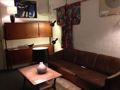 vintage Danish furniture, Miro print, Japanese kimono