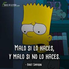 Spanish Quotes, Jfk, The Simpsons, Lisa Simpson, Harley Quinn, Cartoon, Words, Memes, Anime