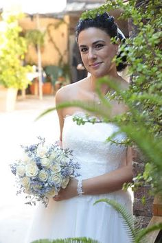 Ramo novia con rosas blancas ARTE FLORAL JUDITH JORDÀ: Ramos De Novia