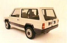 Alfa Romeo Matta ll (Project AR148) Civilian Prototype (1984)