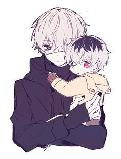 Tokyo Ghoul: Kaneki and lil Haise